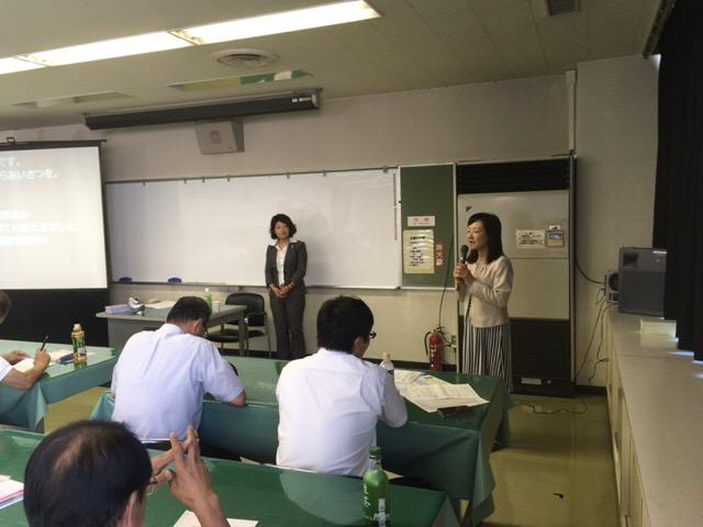 講師を紹介する石田支部長