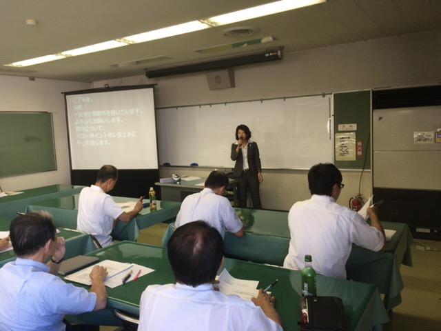山田和美先生の講演