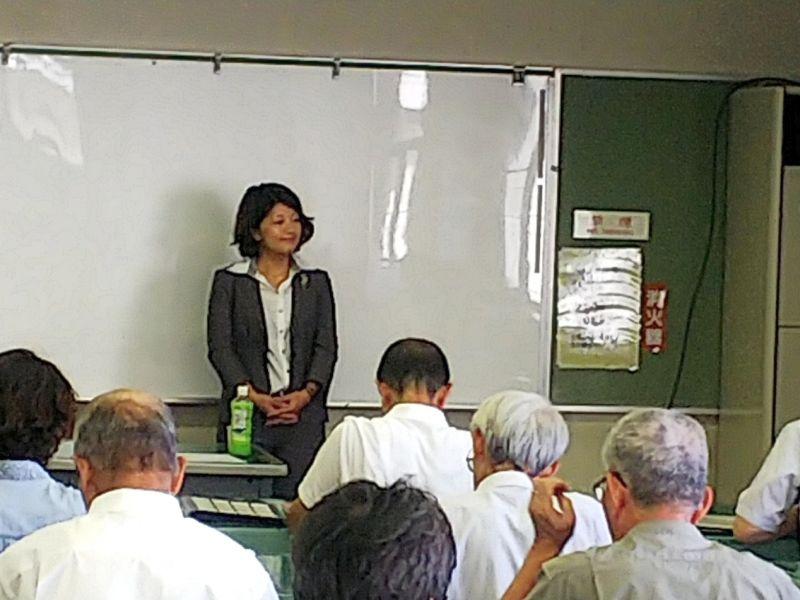 講師の山田和美先生