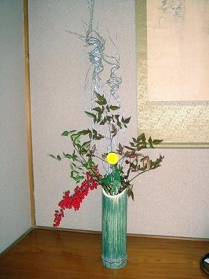竹飾り2012