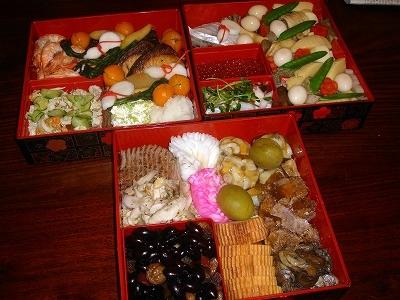 おせち料理2012