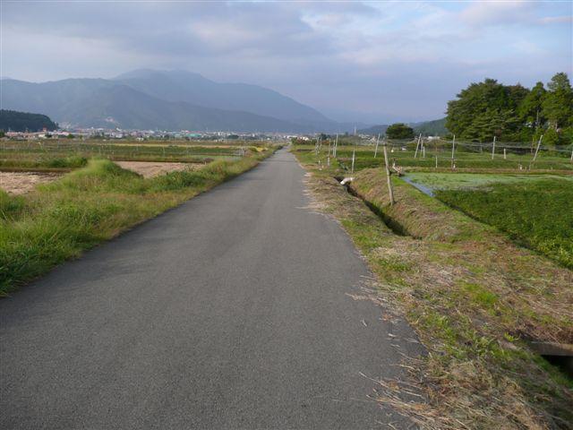 富士吉田田園風景1