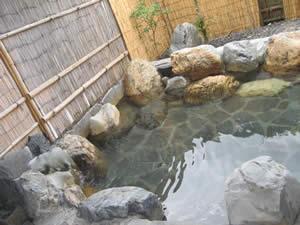 琵琶湖ロイヤルホテル露天風呂