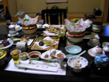 吉乃屋 夕食