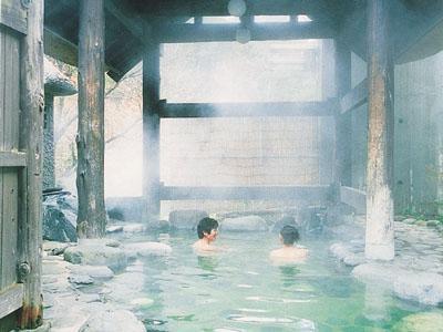たくひで 露天風呂 写真JTB
