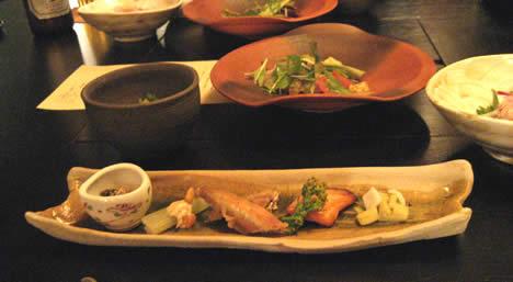 八景 夕食