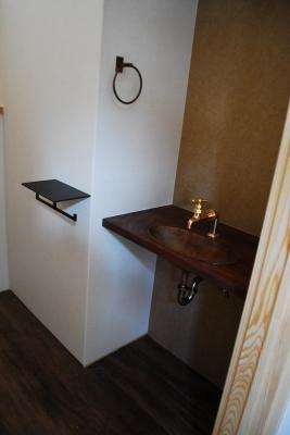 トイレのオーダー手洗器