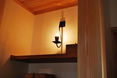 銅ランプ ハンドメイド
