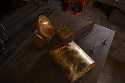 銅 ポスト シンプル