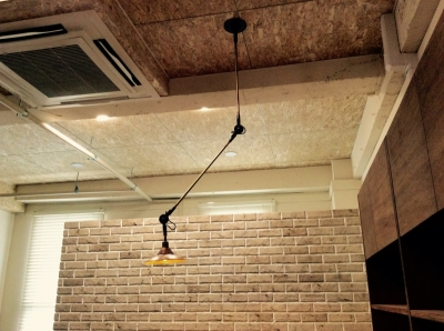 インダストリアル 可動式 照明器具 可動ランプ