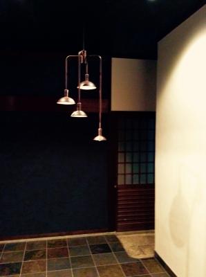 造り酒屋 照明 特注 デザイン照明