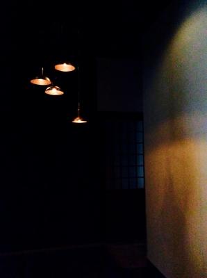 銅製オーダーメイド照明