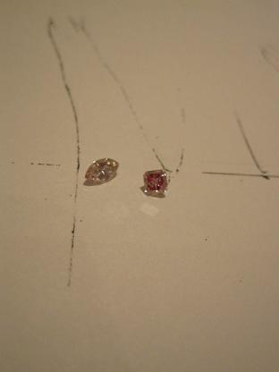 魅惑のピンクダイヤモンド!