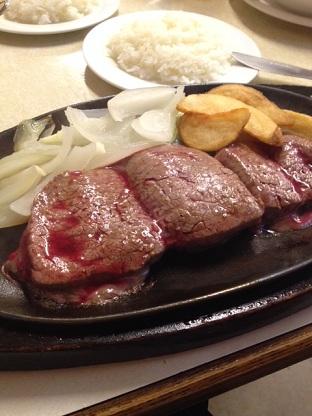 沖縄といえばのジャッキーステーキハウス♪