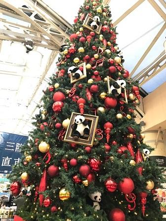 2017 上野駅のクリスマスツリー♪