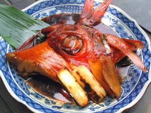 伊豆の地金目鯛煮付け詰合せ