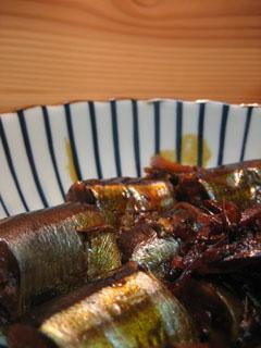 さんまの生姜煮