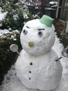 雪だるま2014