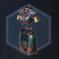 南天舞踏衣:濃縮染料