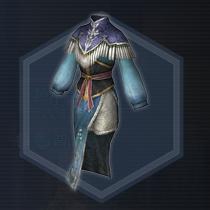 宮廷女官衣:濃縮染料