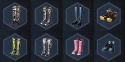 濃縮服飾・脚一覧