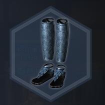 黒革脚甲:濃縮染料