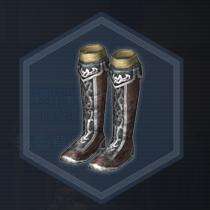 紅閃長靴:濃縮染料