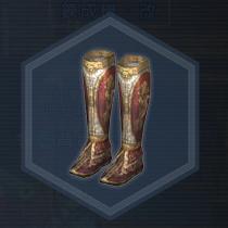 戦姫将脚甲:染色前