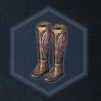 戦姫将脚甲:液体染料