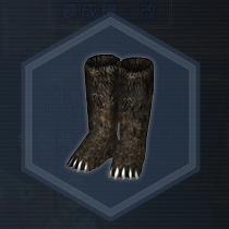 大熊猫長靴:染色前