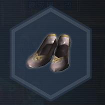 白麗靴:染色前