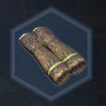 大熊猫手套:粉末染料