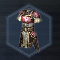 武闘軽甲:染色前