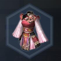 舞闘姫・桃:染色前