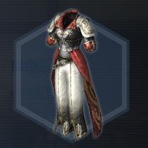 闘姫白銀甲:染色前