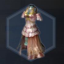 春風芙蓉衣:染色前