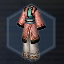 春桃羊衣:染色前