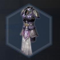 紫翠玉戦甲:染色前