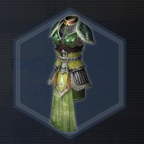 紫翠玉戦甲:粉末染料