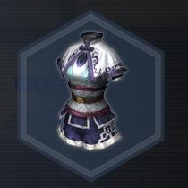 紫苑袴褶:染色前