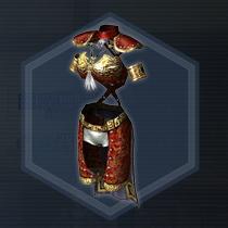 黒革軽甲:液体染料