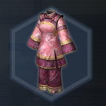 紅椿媛衣:染色前
