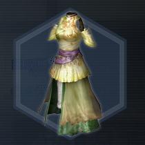 虞姫仙華衣:染色前