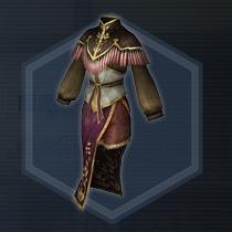 宮廷女官衣:粉末染料