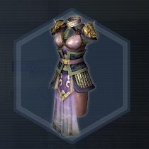 姫将紅焔甲:液体染料