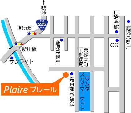 プレール案内地図