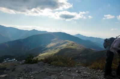 鉢伏山頂上よりハチ高原