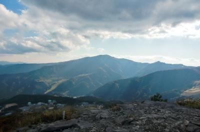 鉢伏山頂上より氷ノ山