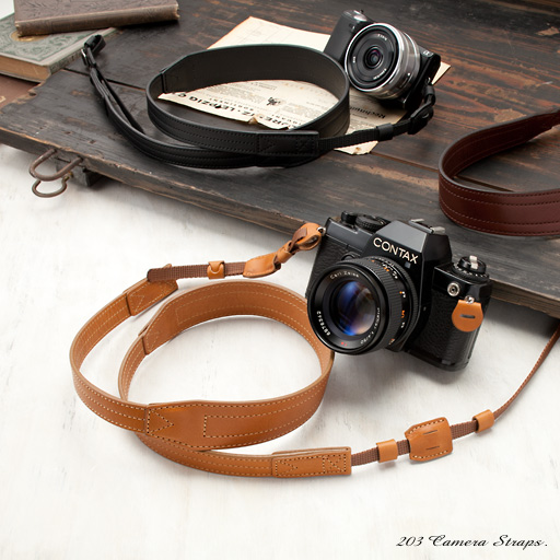 レザーカメラストラップ - ダコタ Ver.2