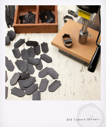 カメラストラップ - Wリング・ブラック製作